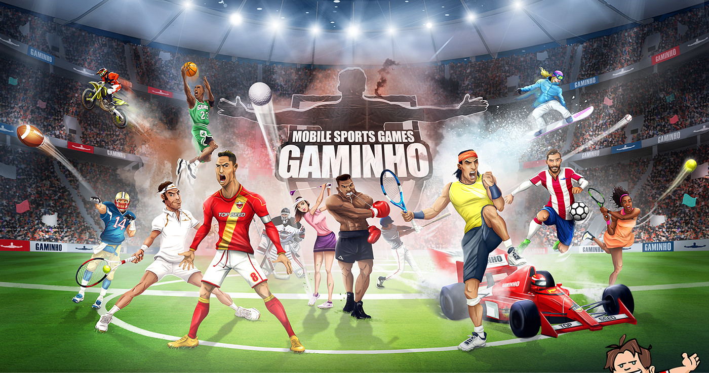 GAMINHO - For Sports Fans, By Sports Fans